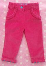 Pantalons rose pour fille de 0 à 24 mois en 100% coton