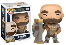 Funko Pop Games League of Legends Braum Vinyl Figure #04 GIFT OFFICIAL NEW UK