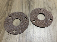 A Pair of Cork-Rubber Gaskets for Altec 288 Drivers