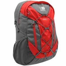 Karrimor Urban Rucksack Laptop Sports Bag Small Backpack 30L Red Grey NEW