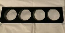 4 Hole 2� Gauge Mount Panel Bezel For Stewart Autometer Vdo Sunpro Equus Usa Mad