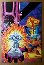 New ListingFantastic Four Silver Surfer Galactus Marvel Comics Poster by Mike Wieringo