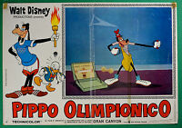 T29 Fotobusta Goofy Olympian Walt Disney Animation Zeichentrickfilm Cartoon 2