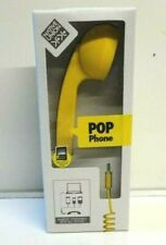 New Boxed Native Union Pop Telephone Handset Retro 3.5 mm Skype VoIP iOS Android