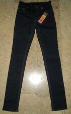 Authentic Ladies Tory Burch Skinny Metal Stud Dark Denim Jeans Size L