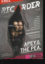Hungarian Magazine Recorder - 065 - Apey & the Pea cover