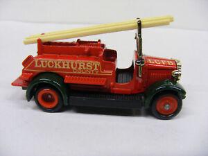 Lledo Days Gone Dg10 DG12 Dennis Luckhurst County Fire Engine Red Green Guards
