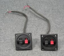 Samsung HT-WX70 Subwoofer Speaker Crossover Wire Input Panels - VERY NICE