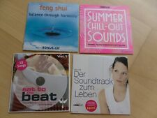 4 CD´s aus Zeitschriften u.a. COSMOPOLITAN MAXI Summer Chillout Sammler TOP!