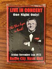 "Frank Sinatra Radio City Music Hall November 1975 2"" x 3"" Concert Magnet"