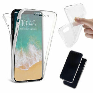 Front & Back Cover Rubber Full Case Protector - iPhone XS All iPhone Model