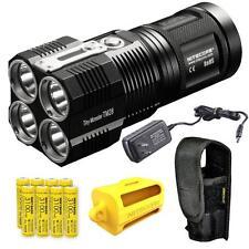 Nitecore TM28 6000 Lumen Tiny Monster LED Flashlight w/ 8x IMR 18650 Batteries
