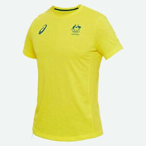 Australian Olympic National Team AOC ASICS Men's T-shirt - Tokyo Olympics Rare L