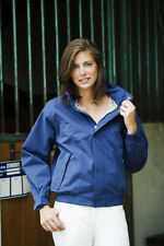 Equi-Theme Oxer Women Equestrian Bomber Riding Jacket - Navy - Size S / UK10