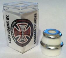 INDEPENDENT SKATEBOARD TRUCK BUSHINGS Standard Cylinder Cushions Super Soft 78a