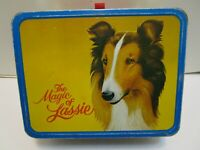 1978 THERMOS  DIVISION KING SEELEY THE MAGIC OF LASSIE METAL LUNCHBOX
