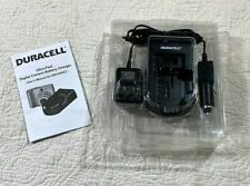 Duracell Ultra fast digital camera battery charger DRCHDIGT NEW