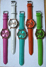 Lässige Armbanduhren mit Kunstleder-Armband für Erwachsene