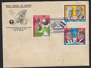 PARAGUAY SEPTEMBER 1968 FDC
