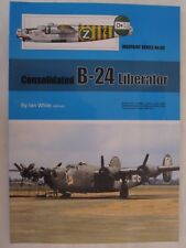 Warpaint 96 - Consolidated B-24 Liberator - Color Profiles, Line Drawings