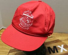 CHINOOK WINDS SILETZ TRIBAL GAMING CENTER LINCOLN CITY OREGON HAT RED SNAPBACK
