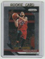 FRED VanVLEET Raptors 2018-19 Panini Prizm #103 ONLY NBA ROOKIE CARD SP RC Sweet