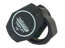 Belomo 10x Loupe Magnifier 2 Selvyt Cloths Logo Lanyard Check Clean Gems Jewelry