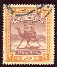 Sudan 1921 KEVII 2p purple & orange-yellow very fine used. SG 26. Sc 25.