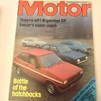 Motor Magazine Argentine GP Battle Of The Hatchbacks January 21 1978 062117nonrh