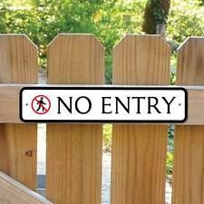 Nessun segno di entrata accesso richiesto robusto CANCELLO segno alcun segno di uscita, nessun segno di parcheggio