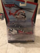Disney Pixar Cars Take Flight Series Rescue Chopper Die Cast Helicopter NEW 2011
