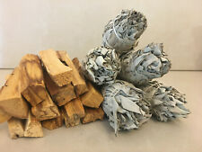 15 Palo Santo Sticks & 5 White Sage Smudge Torch | Smudge Kit Refill