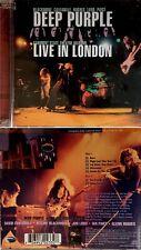 "DEEP PURPLE *BRAND NEW* ""LIVE IN LONDON 1974""  2007 US EAGLE ROCK DIG. RMST 2CD"
