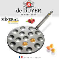 de Buyer - Mineral B Element - Poffertjes Pfanne 27 cm
