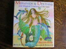 MERMAIDS & DOLPHINS & Magical Creatures of the Seas BOOK & 52 CARDS Gillian Kemp