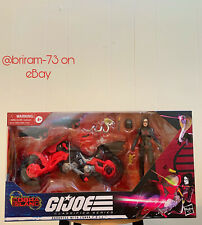 GI JOE Classified Series Baroness With COIL Figure And Vehicle (Target Exclusive