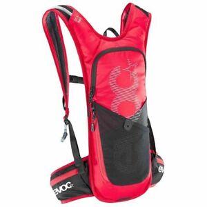 EVOC CC 3 Race Lite 3L Performance plus 2L Hydration Bladder Backpack Red/Black