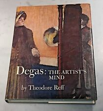 Degas: The Artist's Mind by Theodore Reff (1976, Hardcover) Metropolitan Museum