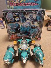 Japan Power Rangers Space sentai Kyuranger DX Cerberios & Kyurenoh set Megazord