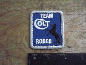 1980's Colt Firearms 'Team Colt Rodeo' Patch