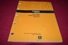 John Deere 2155 2355 2555 2755 Tractor Operator's Manual BWPA