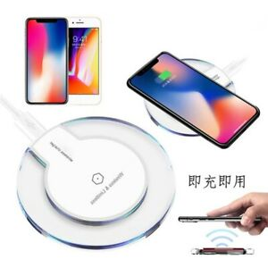 15W K9 Wireless Charger Charging Dock Pad Mat For SamsungS10 iPhone