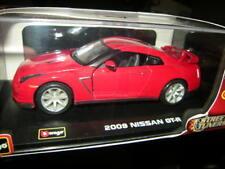 1:32 Bburago Nissan GT-R 2009 rouge/red neuf dans sa boîte