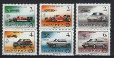 Hungary 1986. Formula 1 cars, nice set MNH Mi: 3828-3833 / 5 EUR