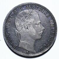 1864 Austria One 1 Florin - Franz Joseph I - Lot 2