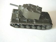 Scale 1:72 model tank KV-2 - 1940 heavy tank of the USSR