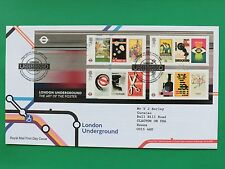 2013 London Underground Royal Mail First Day Cover Tallents House SNo44806