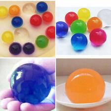 15pcs Magic Crystal Soil Changeable Dragon Ball Water Bead Kids Toy Garden Decor