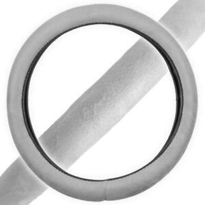 Memory Foam Car Steering Wheel Cover Gray Non-Slip Cushion Grip for Hyundai