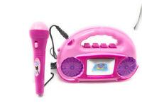 Radio giocattolo con microfono amplificato per bambini gioco idea regalo